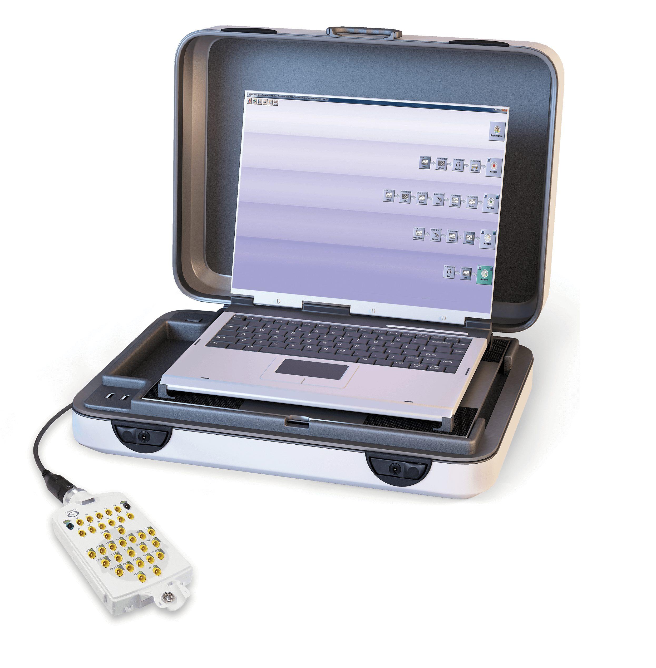 Transportables EEG system